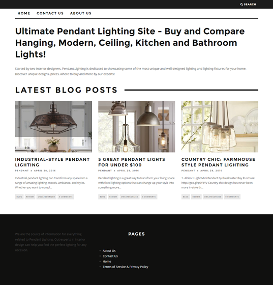 Ultimate Pendant Lighting Site : Ultimate Pendant Lighting Site